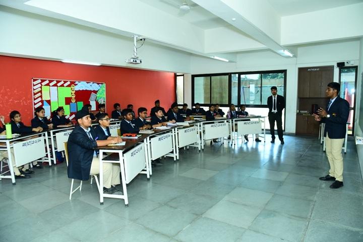 Aparna World School-Seminar-Hall
