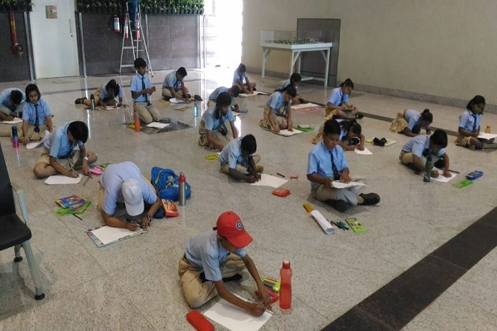Aparna World School- Drawing Competition