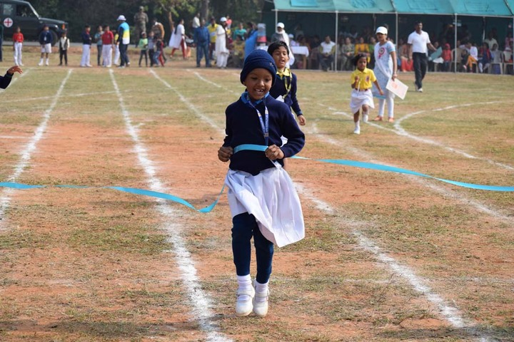 Army Public School-Running Race