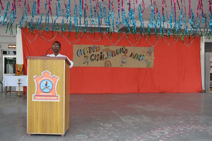 Army Public School-Speech