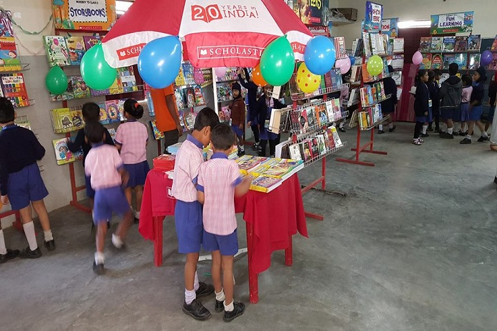 Aryan Public School-Books-Exibition