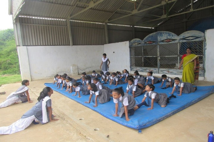 Atomic Energy Central School-Yoga Activity