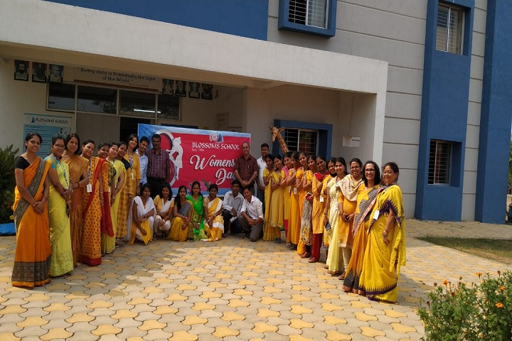 Blossoms School-Womens-Day
