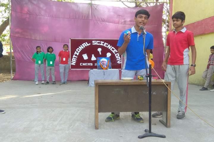 Cement Nagar English Medium School - National science day