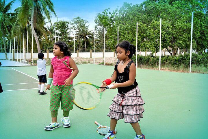 Accord School-Tennis Court