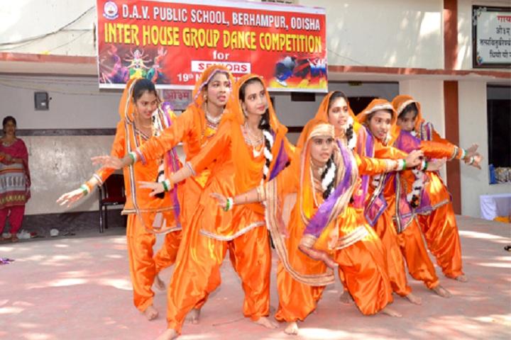 D A V Public School-Dance-Competition