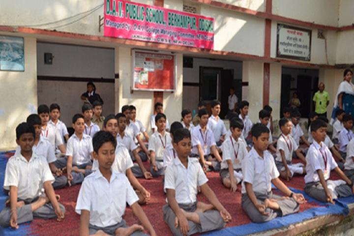 D A V Public School-Yoga-Classes