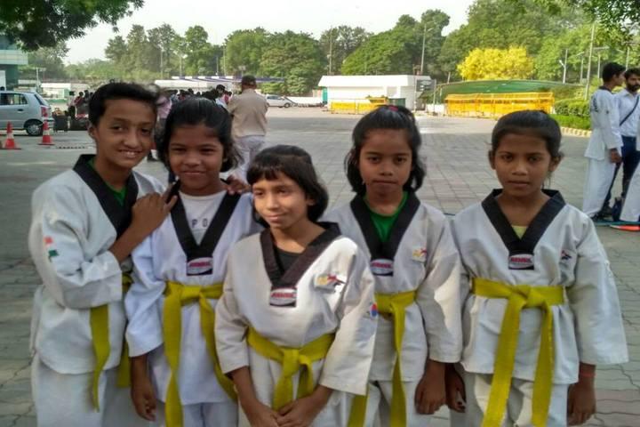 D A V Public School - Karate