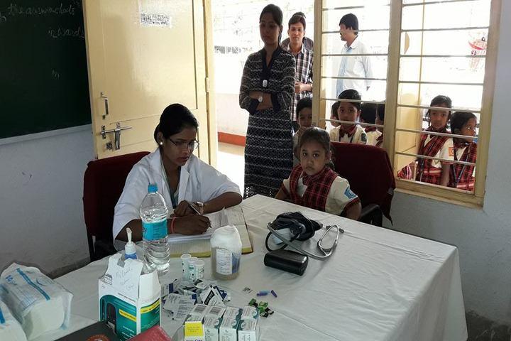 D A V Public School - Medical checkup