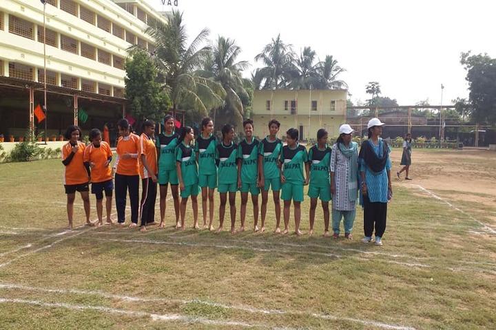 D A V Public School - Sports