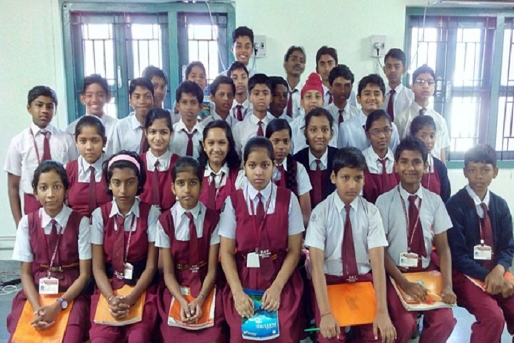 Dav Public School-Students Group Photo