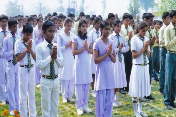 Doon Senior Secondary School-Prayer Ground