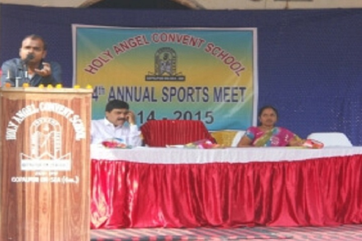 Holy Angel Convent School-Annual Sports Day