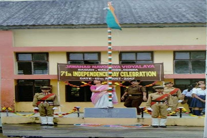 Jawahar Navodaya Vidyalaya-Independence Day Celebrations