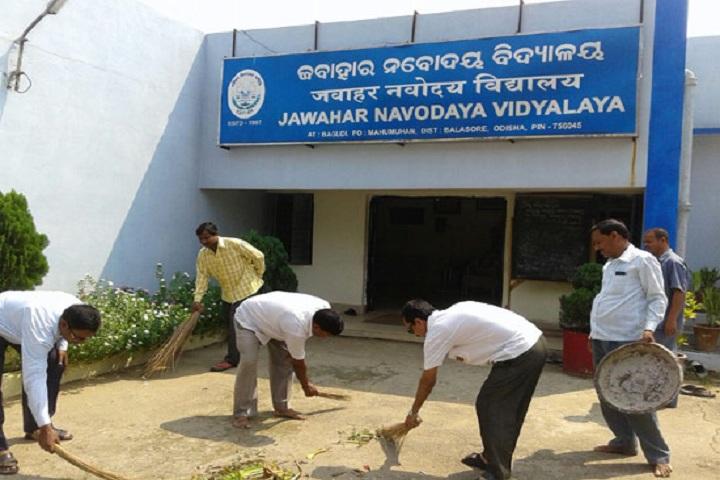 Jawahar Navodaya Vidyalaya-Swachh Bharat
