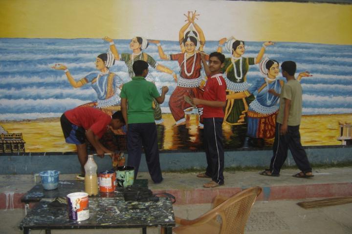 Jawahar Navodaya Vidyalaya-Art Department