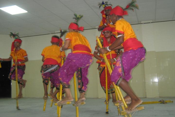 Jawahar Navodaya Vidyalaya-Ranampa Dance