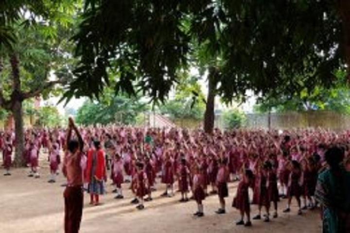 K C Public School-Yoga