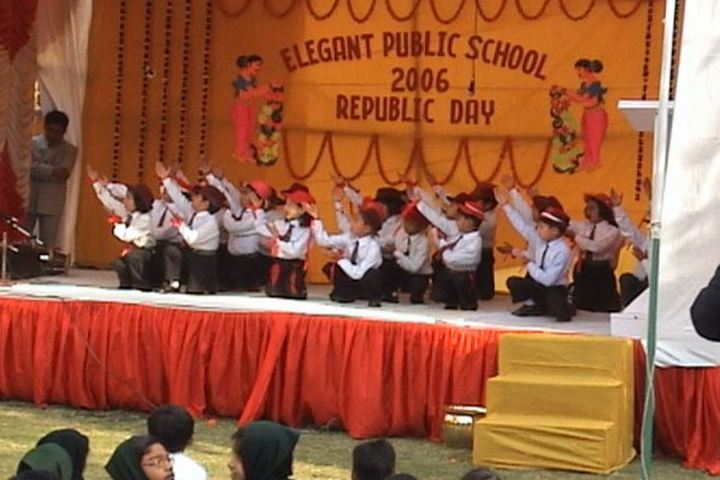 Elegant Public School-Kids Dance