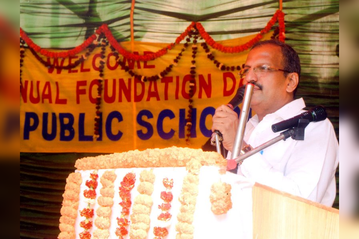 Mbs Public School-Foundation Day