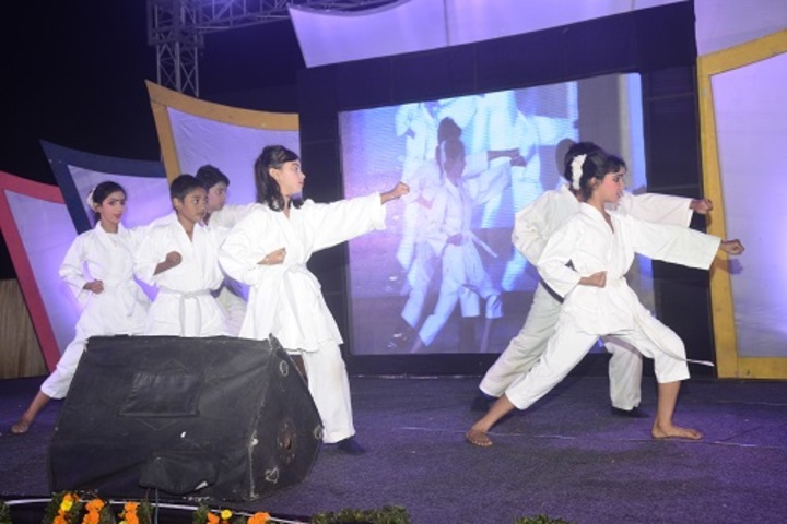 Mount Litera Zee School-Karate