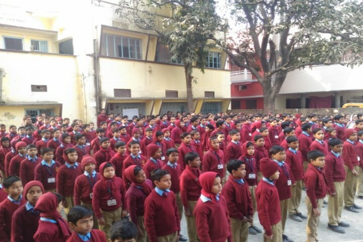 Frontline Public School-Assembly session