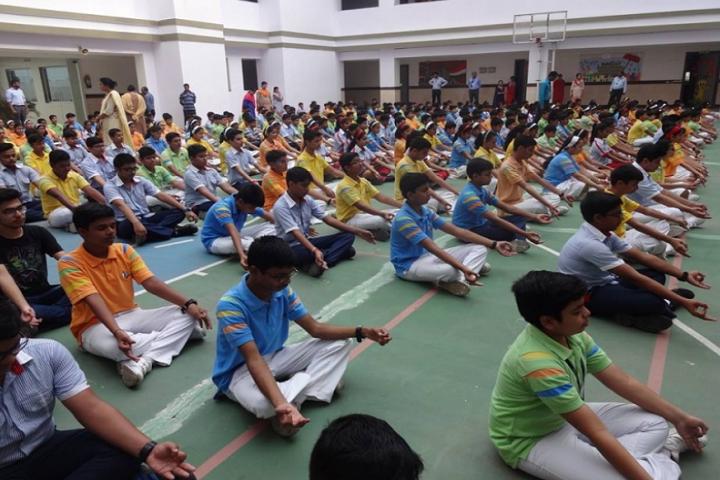 G D Goenka Public School-Yoga Day