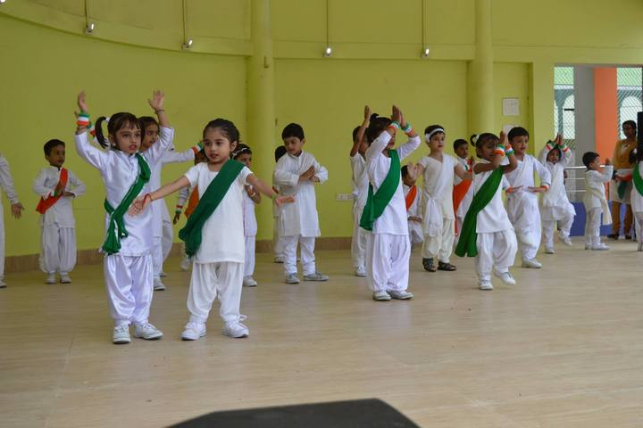 G D Mothers International School-Independence Day Celebrations