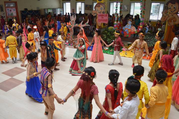 G D Mothers International School-Krishnastami Celebrations