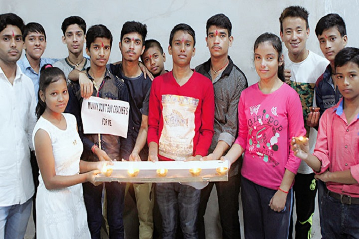 G S  Residential School-Diwali Celebrations