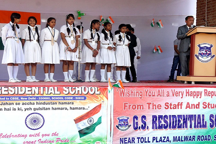 G S  Residential School-Independence Day Celebrations