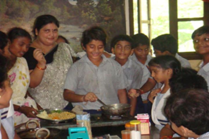 Akshara School-Cooking Activity