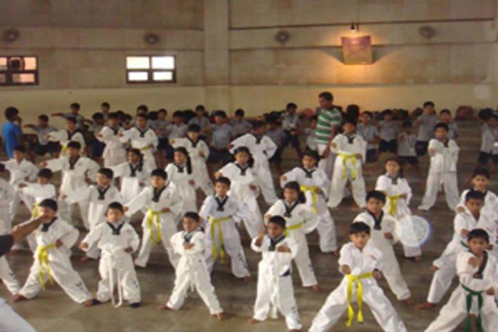 Akshara School-Karate