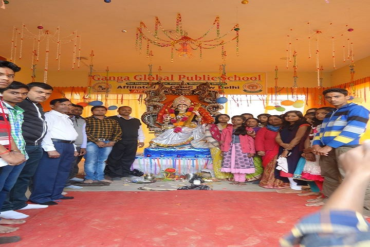 Ganga Global Public School-Duserah Celebrations