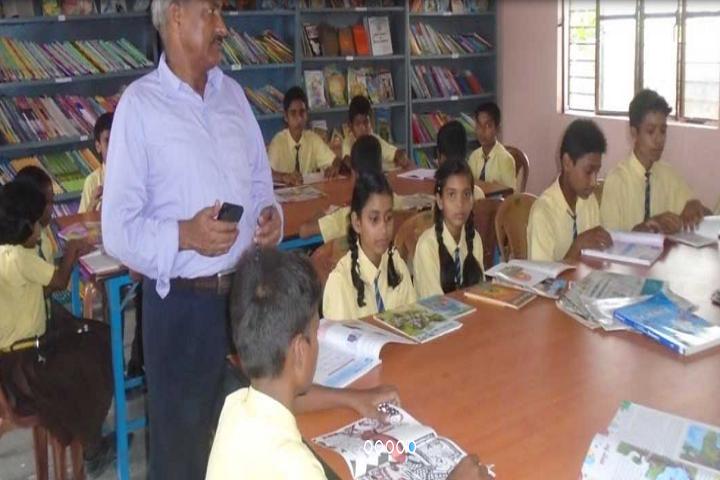 Ganga Global Public School-Library