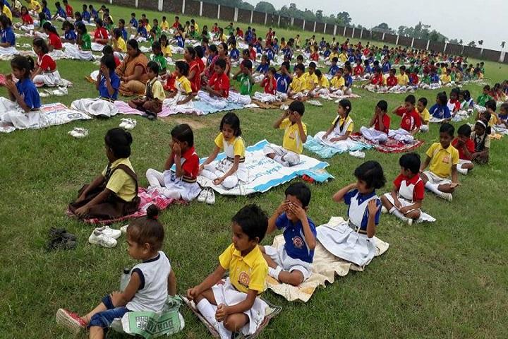 Ganga Global Public School-Yoga