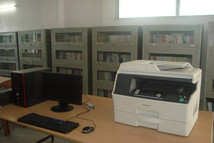 Ganga Global School-Library
