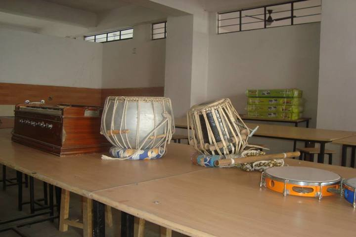 Ganga Global School-Music Room