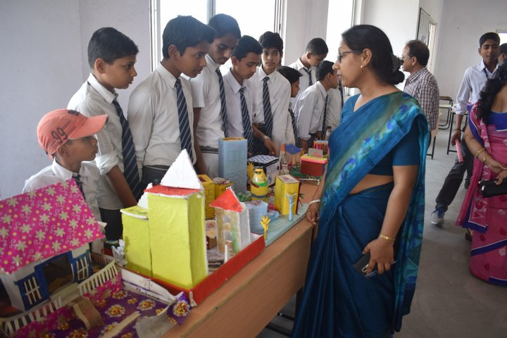 Ganga Global School-Science Exhibition
