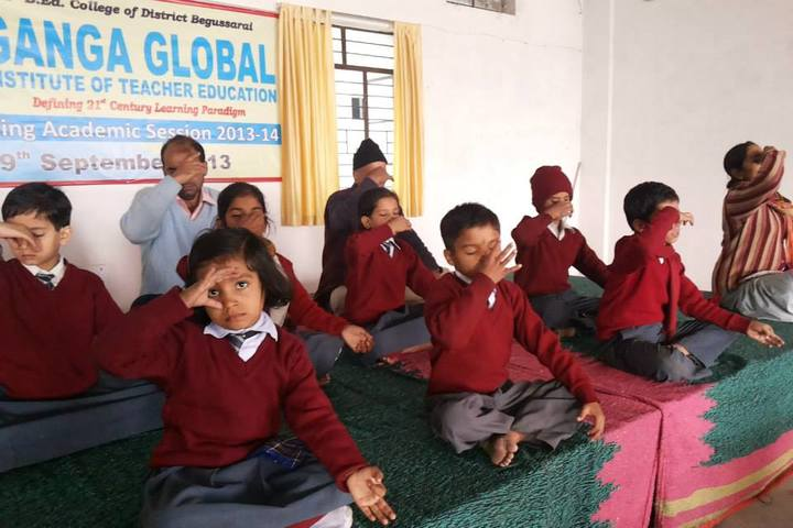 Ganga Global School-Yoga
