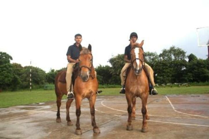 Sainik School-Horse Riding