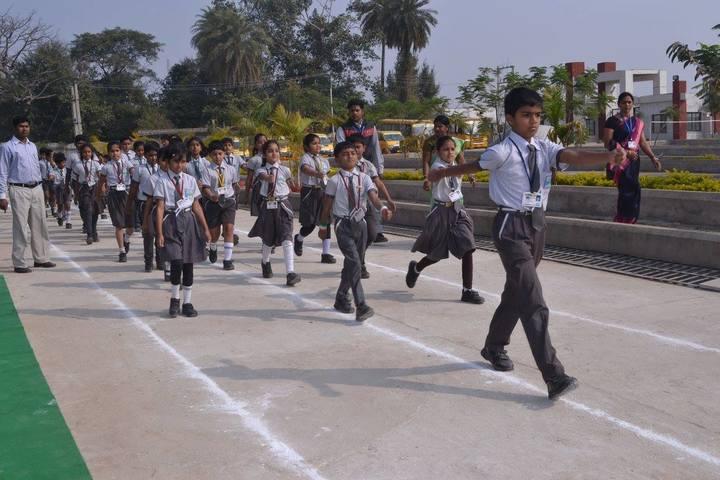 Sanskar International School-MarchPast