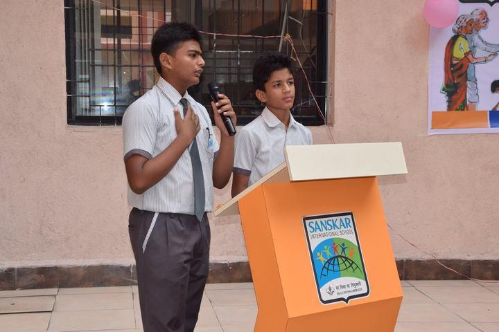 Sanskar International School-Student Speech