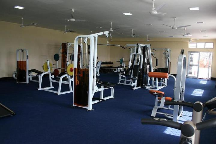 Shrikrishna International School gymnastic room
