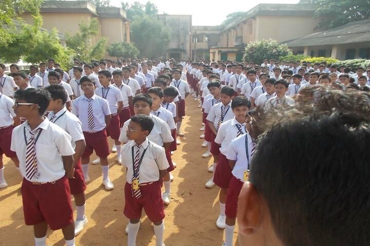 Sivananda Centenary Boys High School-Assembly
