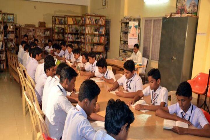 Sivananda Centenary Boys High School-Library