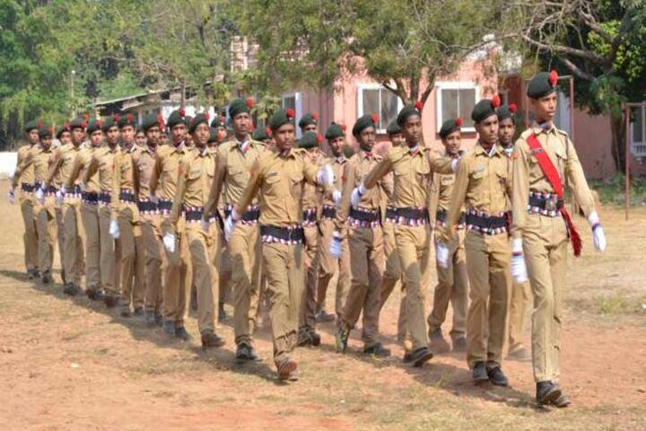 Sivananda Centenary Boys High School-NCC