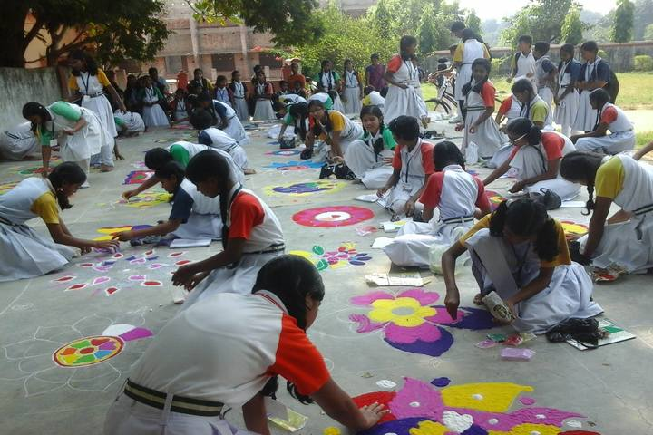 Sri Aurobindo Integral Education and Research Centre-Rangoli Competition