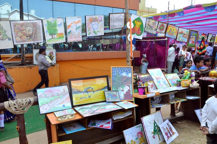 St Xavier International School-Art Exhibition