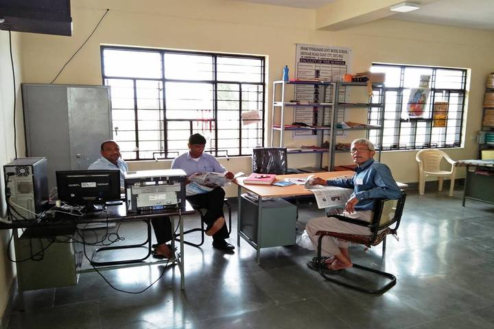 Swami Vivekanand Government Model School-Staff Room